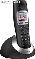 Dect Topcom Orbit negro pantalla en color