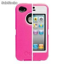 Defender iPhone 4 e 4s - Rosa Branco