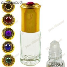 Dekorative glas - roll-on - 3 ml - goldene spitzen mit diamant