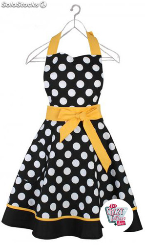 Delantal Vintage Polka Dots Sharon