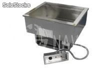 Delfield n8630 drop-in hot/cold food well, 2 pan size - cod. produto nv2419