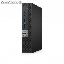 Dell - OptiPlex 3040m 3.2GHz i3-6100T 1.2L sized pc Negro