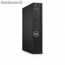 Dell - OptiPlex 3050 3.4GHz i3-7100T 1,2 l tamaño pc Negro Mini pc - 22121770