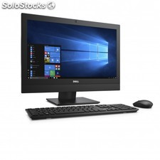 "DELL - OptiPlex 5250 3.9GHz i3-7100 21.5"""" 1920 x 1080Pixeles Negro PC todo en"