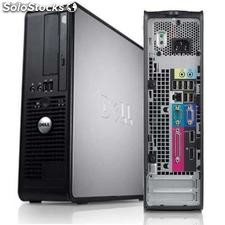 Dell Optiplex 760 sff Dual Core 2,60Ghz / 2048Mb / 160Gb / dvdr:w