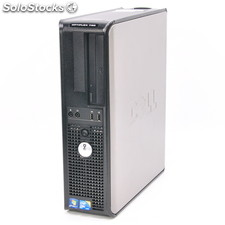 Dell Optiplex 780DT - C2D E7500 2,93Ghz / 2Gb / 160-250Gb / DVD:rw