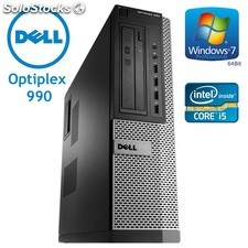 Dell Optiplex 990 SD Core i7-2600 a 3,4 Ghz 16 Gb 500 Gb Win 10