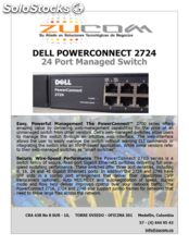 Dell powerconnect 2724 24 Port Managed Switch