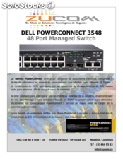 Dell powerconnect 3548 48 Port Managed Switch
