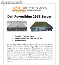 Dell PowerEdge 2958 Server