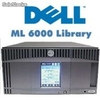 Dell PowerVault ml 6010 2 x Lectora Cinta lto3 Fiber Channel