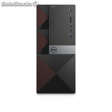 Dell - Vostro 3668 3.9GHz i3-7100 Mini Tower Negro, Rojo pc - 22139084
