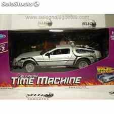 Delorean regreso al futuro escala 1/24 welly coche escala metal