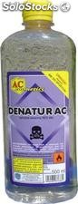 Denatur ac (Denaturat) fioletowy i bezbarwny / Denaturant purple and colorless.