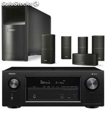 Denon avr-X2400 + bose AM10 v black