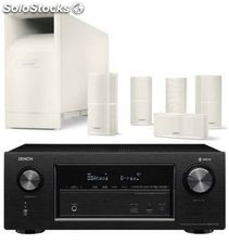 Denon avr-X2400 + bose AM10 v white
