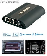 Dension Pro BT, manos libres Bluetooth con interface iPod y USB