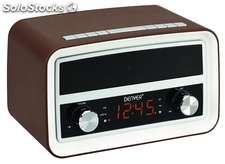 Denver CRB-619, radio despertador USB Bluetooth