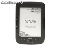 "Denver - ebook 6"" ebo-610L retroiluminado 4GB"