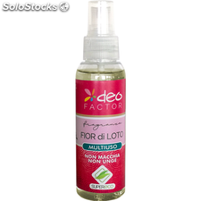 Deo Factor Fragranze 100ml Fior di loto