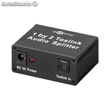 derivatore toslink audio switch 2 in 1 out 67794