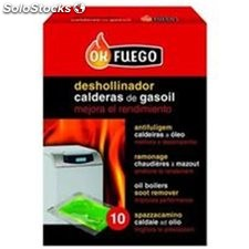 Deshollinador Liquido Estufas Gas-Oil 10X5Ml