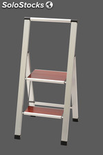 Design - step ladder , 2 steps , foldable , MARONA 2 / Only with us in europe