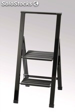 Design - step ladder , 2 steps , foldable , MATRIX 2 / only with us in europe
