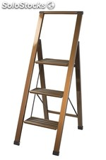 Design - step ladder , 3 steps , foldable , Cartana 3 / only with us in europe