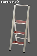 Design - step ladder , 3 steps , foldable , MARONA 3 / Only with us in europe