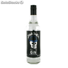 Destilados ginebras - Gin Black Death 70 cl