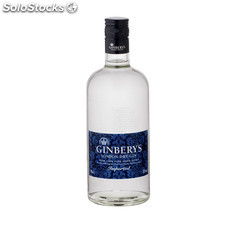 Destilados ginebras - Gin Ginberys London Dry 70 cl