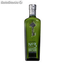 Destilados ginebras - Nº3 London Dry Gin 70 cl