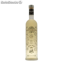 Destilados ginebras - Santamania London Dry Gin Reserva 70 cl