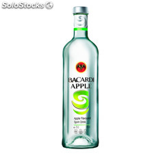 Destilados rones - Bacardi Apple 1L