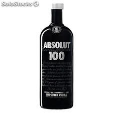 Destilados vodkas - Absolut 100 1L