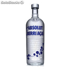 Destilados vodkas - Absolut Berri Açai 1L