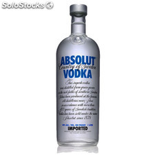 Destilados vodkas - Absolut Blue 1L