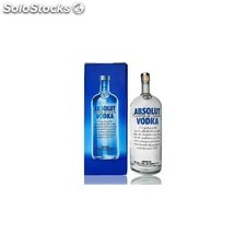 Destilados vodkas - Absolut Blue 4,5L