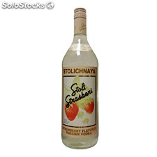 Destilados vodkas - Stolichnaya Strawberry 1L