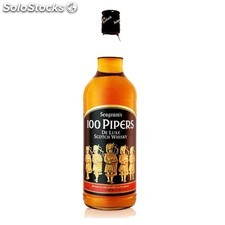 Destilados whiskys / bourbons - 100 Pipers 70 cl