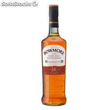 Destilados whiskys / bourbons - Bowmore 15 Años darkest 70 cl
