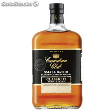 Destilados whiskys / bourbons - Canadian Club Small Batch Classic 12 Años 1L