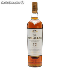 Destilados whiskys / bourbons - Macallan 12 Años Sherry Oak 70 cl