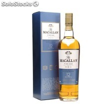 Destilados whiskys / bourbons - The Macallan 12 Años Fine oak 50 cl