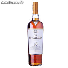 Destilados whiskys / bourbons - The Macallan 18 Años Sherry oak 70 cl