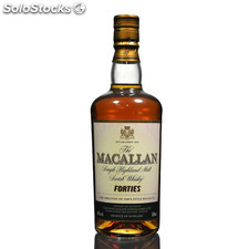 Destilados whiskys / bourbons - The Macallan Forties Travel series 50 cl