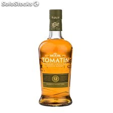 Destilados whiskys / bourbons - Tomatin 12 Años 70 cl