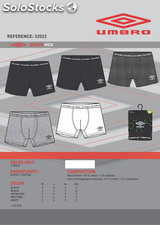 Destockage boxer UMBRO basic