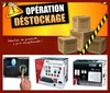 Destockage de materiels de securite et controle d'acces